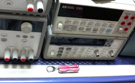 電子機器の修理